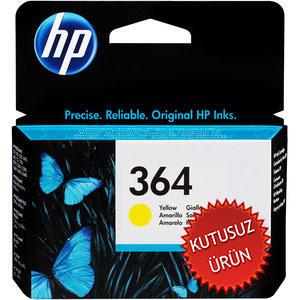 HP - HP 364 CB320EE SARI ORJİNAL KARTUŞ (U)