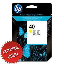 HP - HP 40 51640Y Sarı Orjinal Kartuş (U)