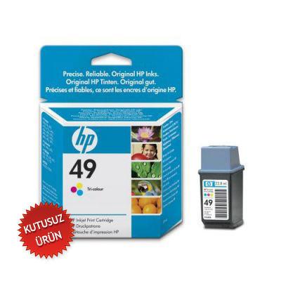 HP - HP 49 51649AE Renkli Orjinal Kartuş (U)