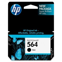 HP - HP 564 CB316W SİYAH ORJİNAL KARTUŞ C6380 / C6383 / B8550