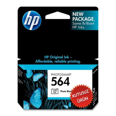 HP - HP 564 CB317W FOTO SİYAH ORJİNAL KARTUŞ (U)