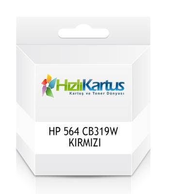 HP - HP 564 CB319W KIRMIZI MUADİL KARTUŞ C6380 / C6383 / B8550