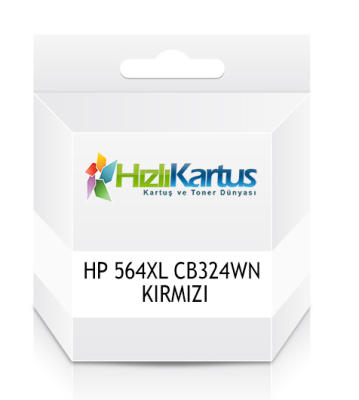 HP - HP 564XL CB324WN KIRMIZI MUADİL KARTUŞ DeskJet 3070A, OfficeJet 4610 / 4620