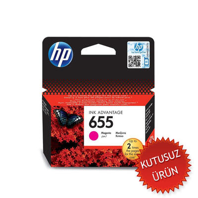 HP - HP 655 CZ111AE Kırmızı Orjinal Kartuş (U)