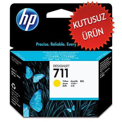 HP - HP 711 CZ132A SARI ORJİNAL KARTUŞ (U)