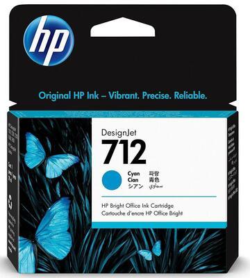 HP - HP 712 3ED67A Mavi Orjinal Kartuş - 5HB12A / 5HB14C