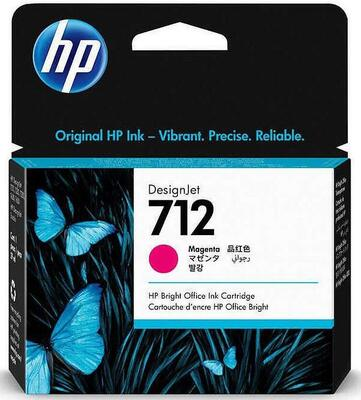 HP - HP 712 3ED68A Kırmızı Orjinal Kartuş - 5HB12A / 5HB14C