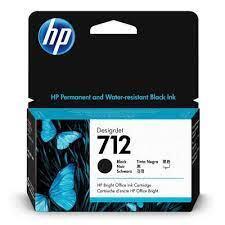 HP - HP 712 3ED70A Siyah Orjinal Kartuş - 5HB12A / 5HB14C