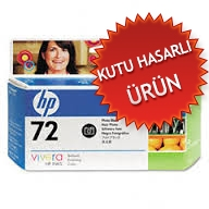 HP - HP 72 C9370A FOTO SİYAH ORJİNAL PLOTTER KARTUŞU (C)