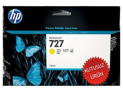 HP - HP 727 B3P21A SARI ORJİNAL KARTUŞ (U)