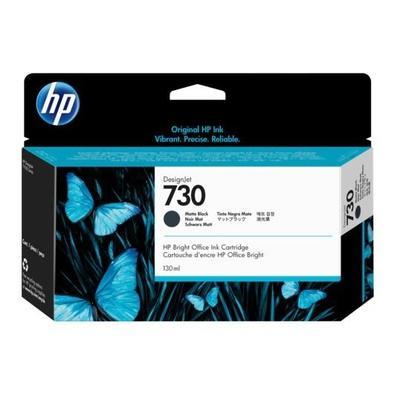 HP - HP 730 P2V65A Mat Siyah Orjinal Kartuş (130 Ml.) DesignJet T1600, T1700, T2600