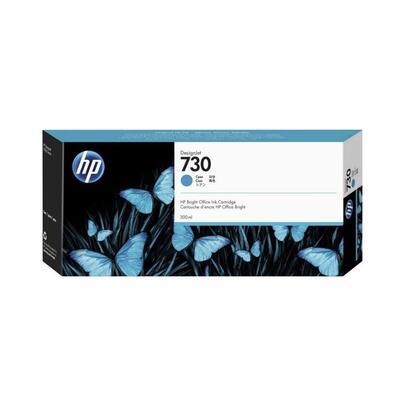 HP - HP 730 P2V68A Mavi Orjinal Kartuş 300ml DesignJet T1700