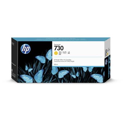HP - HP 730 P2V70A Sarı Orjinal Kartuş 300ml DesignJet T1700