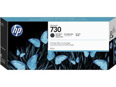 HP - HP 730 P2V71A Mat Siyah Orjinal Kartuş 300ml DesignJet T1700