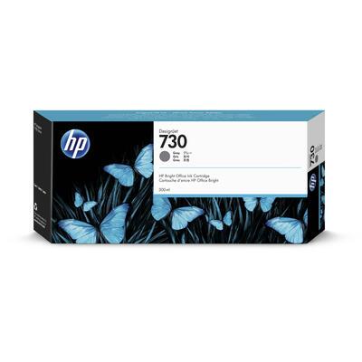 HP - HP 730 P2V72A Gri Orjinal Kartuş 300ml DesignJet T1700