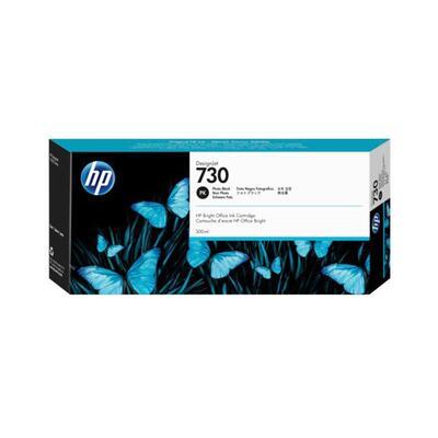 HP - HP 730 P2V73A Foto Siyah Orjinal Kartuş 300ml DesignJet T1700