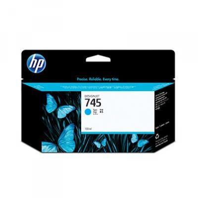 HP - HP 745 F9J97A Mavi Orjinal Kartuş DesignJet Z2600/Z5600