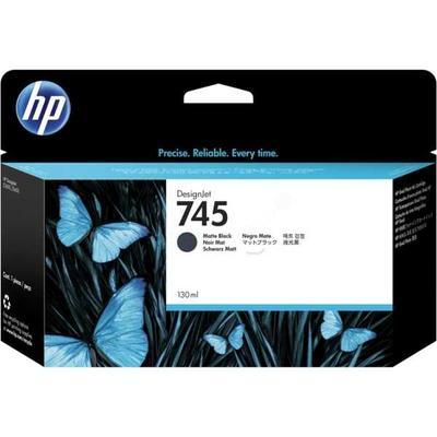 HP - HP 745 F9J99A Mat Siyah Orjinal Kartuş DesignJet Z2600/Z5600