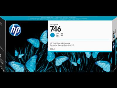 HP - HP 746 P2V80A Mavi Orjinal Kartuş DesignJet Z6, DesignJet Z9+dr, DesignJet Z6dr