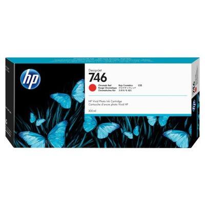 HP - HP 746 P2V81A Kromatik Kırmızı Orjinal Kartuş DesignJet Z6, DesignJet Z9+dr, DesignJet Z6dr