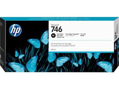 HP - HP 746 P2V82A Foto Siyah Orjinal Kartuş DesignJet Z6, DesignJet Z9+dr, DesignJet Z6dr