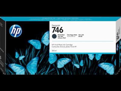 HP - HP 746 P2V83A Mat Siyah Orjinal Kartuş DesignJet Z6, DesignJet Z9+dr, DesignJet Z6dr
