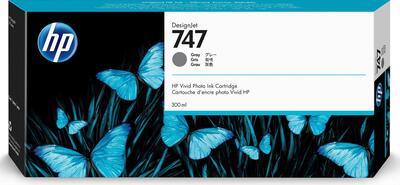 HP - HP 747 P2V86A Gri Orjinal Kartuş 300 ml. Designjet Z9 / W3Z71A / W3Z72A / X9D24A