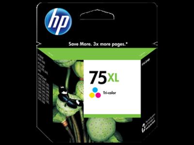 HP - HP 75XL CB338WB RENKLİ ORJİNAL KARTUŞ J5700 / J5725 / J5730 / J5735