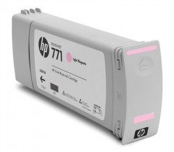 HP - HP 771 CE041A AÇIK KIRMIZI PLOTTER KARTUŞU (U)