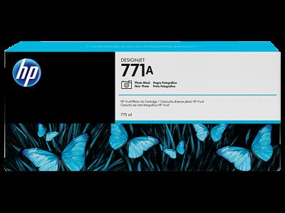 HP - HP 771A B6Y21A Foto Siyah Orjinal Kartuş - Designjet Z6200 / Z6600 / Z6800