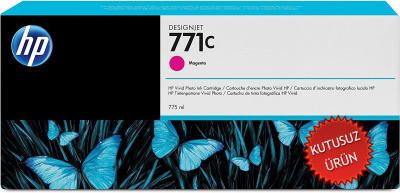 HP - HP 771C B6Y09A KIRMIZI PLOTTER KARTUŞU (U)