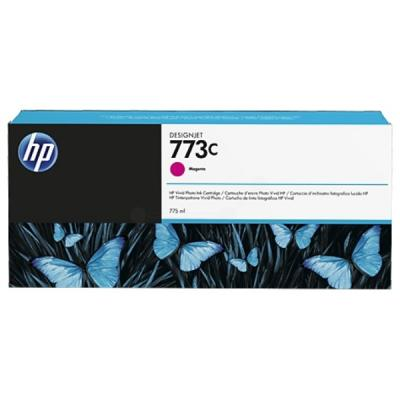 HP - HP 773C C1Q39A KIRMIZI ORJİNAL KARTUŞ DesignJet Z6600 / Z6800