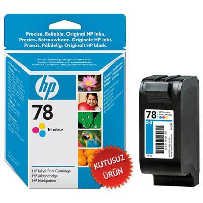 HP - HP 78 C6578D RENKLİ ORJİNAL KARTUŞ (U)