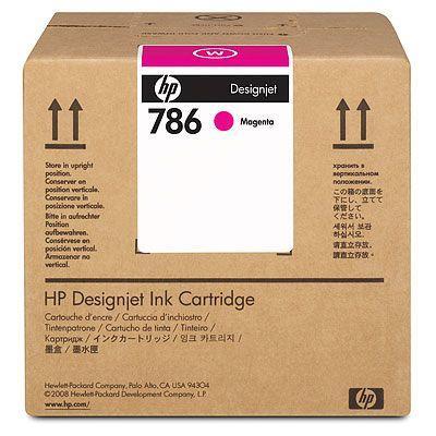 HP - HP 786 CC587A LX600 Kırmızı 3 Lt. Lateks Kartuş L65500 / LX800