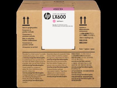 HP - HP 786 CC590A LX600 Açık Kırmızı (Light Magenta) 3 Lt. Lateks Kartuş L65500 / LX800