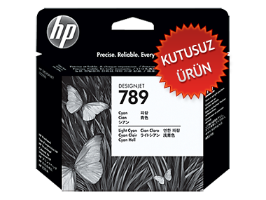 HP - HP 789 CH613A Mavi-Açık Mavi Baskı Kafası DesignJet L25500 (U)