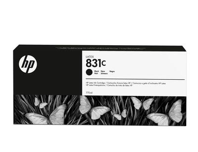 HP - HP 831C CZ694A Siyah Orjinal Lateks Kartuş