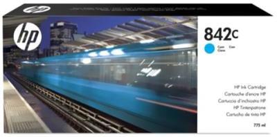 HP - HP 842C C1Q54A Mavi Orjinal Kartuş PageWide XL 8000 Serisi
