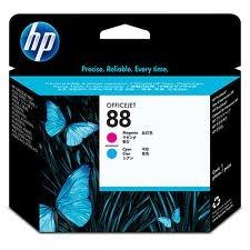 HP - HP 88 C9382A KIRMIZI-MAVİ KAFA KARTUŞU