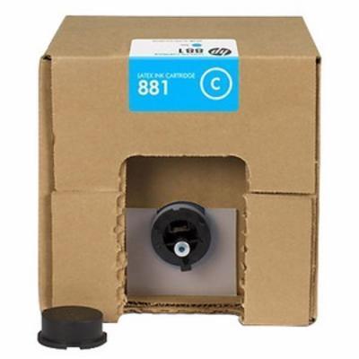 HP - HP 881 CR331A Mavi Lateks Kartuş 5 Litre Lateks 1500 / 3100 / 3500