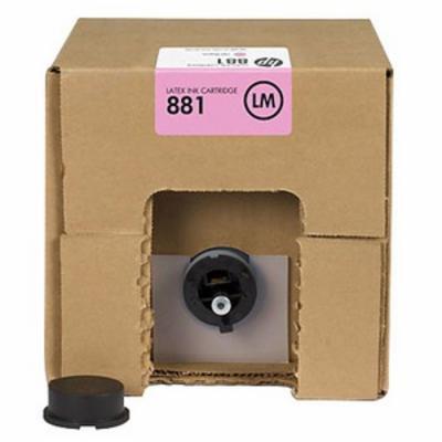 HP - HP 881 CR336A Açık Kırmızı Lateks Kartuş 5 Litre Lateks 1500 / 3100 / 3500