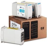 HP - HP 90 C5083A MAVİ ORJİNAL KARTUŞ 3lü Paket 4000 / 4500 / 4520