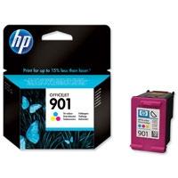 HP - HP 901 CC656A RENKLİ ORJİNAL KARTUŞ