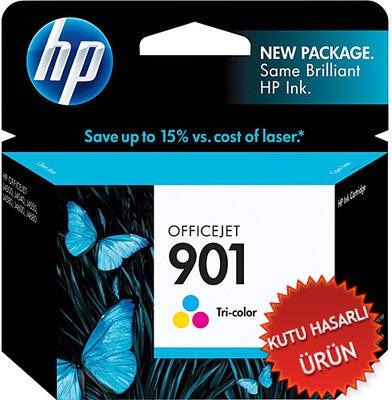 HP - HP 901 CC656A Renkli Orjinal Kartuş - J4580 / J4680 (C)