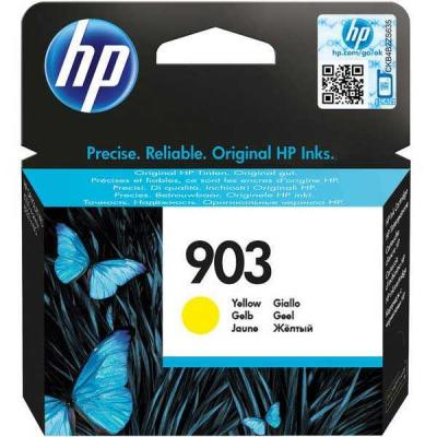 HP - HP 903 T6L95AE Sarı Orjinal Kartuş OfficeJet 6950 / 6960 / 6970