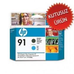 HP - HP 91 C9460A SİYAH-MAVİ KAFA KARTUŞU (U)