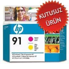 HP - HP 91 C9461A SARI-KIRMIZI KAFA KARTUŞU (U)