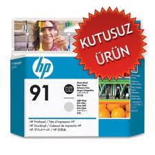HP - HP 91 C9463A SİYAH-AÇIK GRİ KAFA KARTUŞU (U)