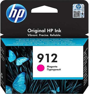 HP - HP 912 3YL78AE Kırmızı Orjinal Kartuş OfficeJet Pro 8012, 8014, 8015, 8022, 8024, 8025