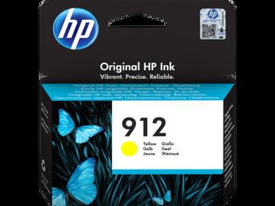 HP - HP 912 3YL79AE Sarı Orjinal Kartuş OfficeJet Pro 8012, 8014, 8015, 8022, 8024, 8025
